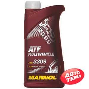 Купить Трансмиссионное масло MANNOL ATF Multivehicle (1л)