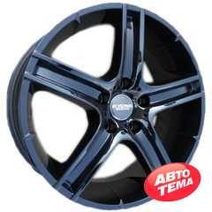 Купить KYOWA RACING KR-333 Glossy Black R17 W7.5 PCD5x112 ET35 DIA66.6