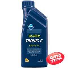 Моторное масло ARAL Super Tronic E - Интернет магазин резины и автотоваров Autotema.ua