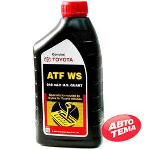 Купить Трансмиссионное масло TOYOTA ATF WS (0.946 л)