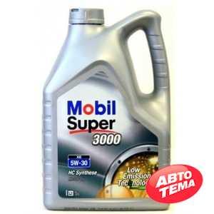 Купить Моторное масло MOBIL Super 3000 XE 5W-30 (5л)