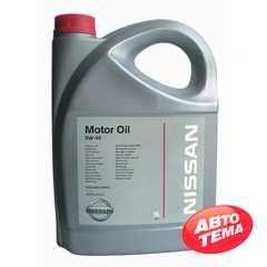 Купить Моторное масло NISSAN Motor Oil 5W-40 (5л)