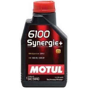 Купить Моторное масло MOTUL 6100 Synergie Plus 5W-40 (1л)