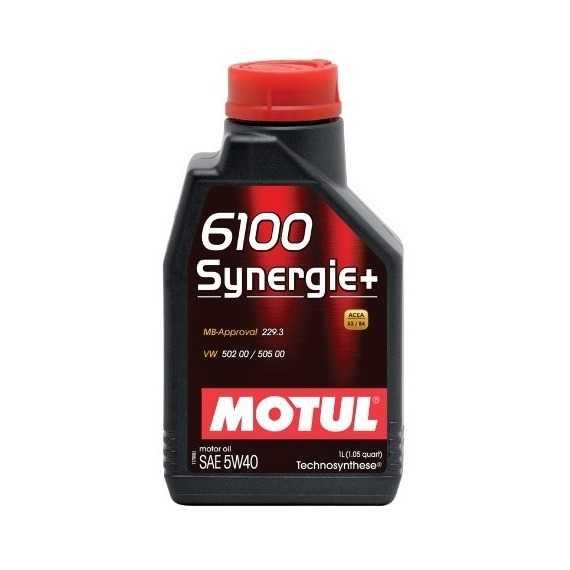 Моторное масло MOTUL 6100 Synergie Plus - Интернет магазин резины и автотоваров Autotema.ua