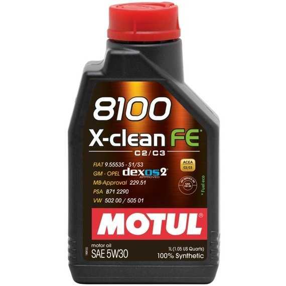 Моторное масло MOTUL 8100 X-clean FE - Интернет магазин резины и автотоваров Autotema.ua
