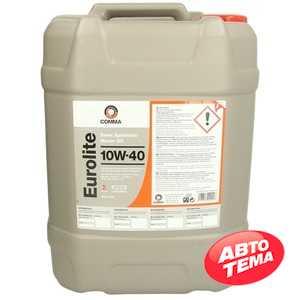 Купить Моторное масло COMMA EUROLITE 10W-40 API SN/CF (20л)