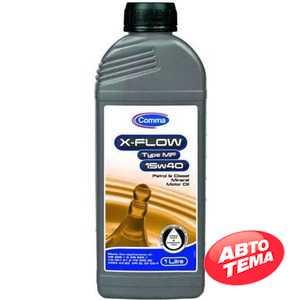 Купить Моторное масло COMMA X-FLOW TYPE MF 15W-40 API SL CF CG-4 (1л)