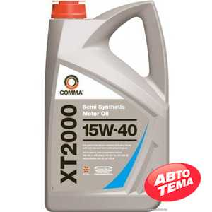Купить Моторное масло COMMA XT-2000 15W-40 API SL/CF (4л)