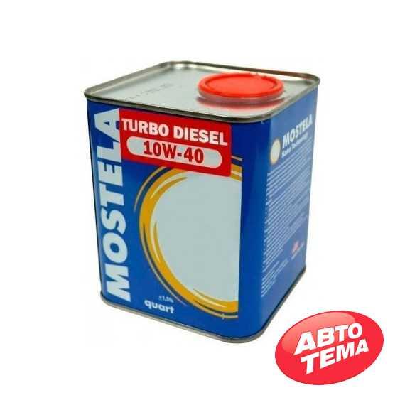 Купить Моторное масло MOSTELA Diesel 10W-40 (5л)