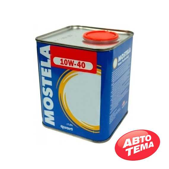 Моторное масло MOSTELA Semisynt - Интернет магазин резины и автотоваров Autotema.ua