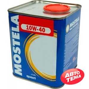Купить Моторное масло MOSTELA Syn-Tec 10W-40 syn-tec SL/CF (1л)