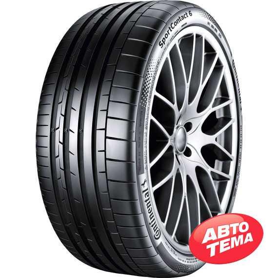 Купить Летняя шина CONTINENTAL ContiSportContact 6 255/30 R20 92Y