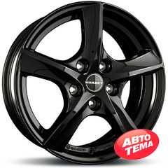 Купить BORBET TL2 Glossy Black R16 W6.5 PCD5x108 ET50 HUB63.4
