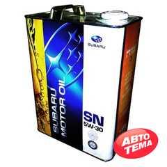 Купить Моторное масло SUBARU Motor Oil SN 5W-30 (4л)