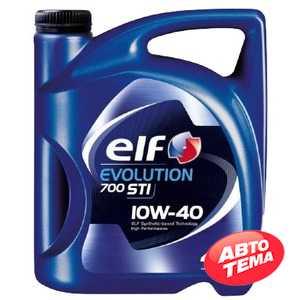 Купить Моторное масло ELF EVOLUTION 700 STI 10W-40 (4л)