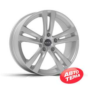 Купить Легковой диск MAK Zenith Hyper Silver R17 W7 PCD5x105 ET42 DIA56.6