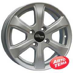 Купить TECHLINE 408 S R14 W5.5 PCD4x100 ET43 HUB60.1