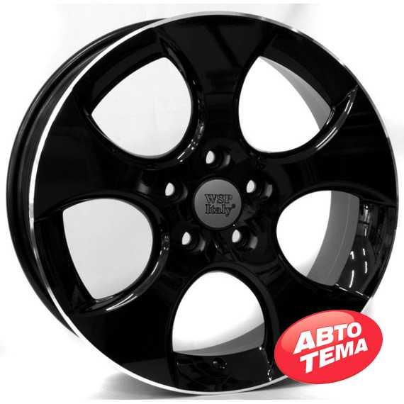 WSP ITALY Ciprus W444 GLOSSY BLACK LIP POLISHED - Интернет магазин резины и автотоваров Autotema.ua