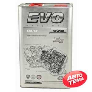 Купить Моторное масло EVO E5 10W-40 SM/CF (4л)