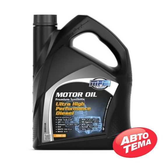 Моторное масло MPM Motor Oil Premium Synthetic Ultra High Performance Diesel - Интернет магазин резины и автотоваров Autotema.ua