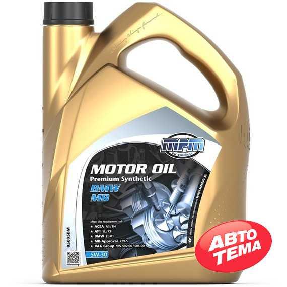 Моторное масло MPM Motor Oil Premium Synthetic - Интернет магазин резины и автотоваров Autotema.ua