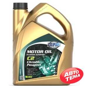Купить Моторное масло MPM Motor Oil Premium Synthetic C2 5W-30 Citroen/Peugeot (5л)