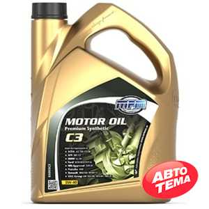Купить Моторное масло MPM Motor Oil Premium Synthetic C3 5W-40 (5л)