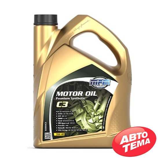 Моторное масло MPM Motor Oil Premium Synthetic C3 - Интернет магазин резины и автотоваров Autotema.ua