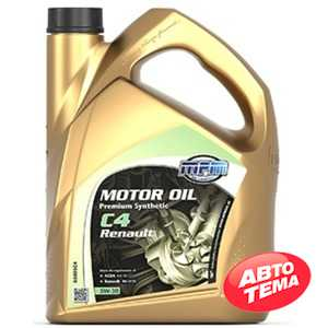 Купить Моторное масло MPM Motor Oil Premium Synthetic C4 5W-30 Renault (5л)
