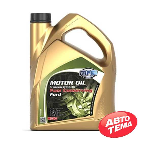 Моторное масло MPM Motor Oil Premium Synthetic Fuel Conserving Ford - Интернет магазин резины и автотоваров Autotema.ua