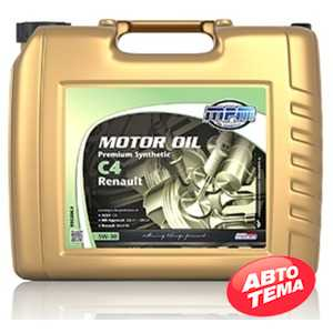 Купить Моторное масло MPM Motor Oil Premium Synthetic C4 5W-30 Renault (20л)