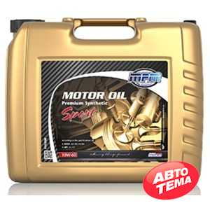 Купить Моторное масло MPM Motor Oil Premium Synthetic Sport 10W-60 (20л)