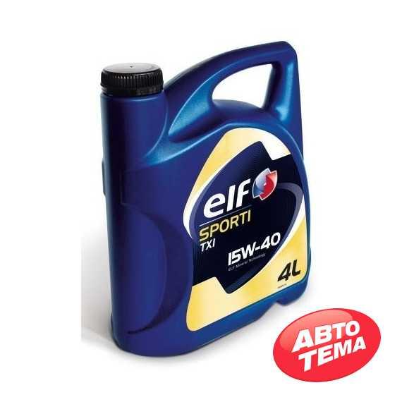 Моторное масло ELF SPORTI TXI - Интернет магазин резины и автотоваров Autotema.ua