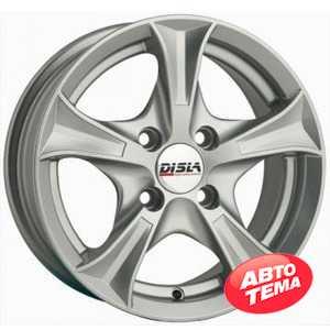 Купить DISLA LUXURY 506 S R15 W6.5 PCD4x108 ET35 DIA66.6