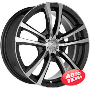 Купить RW (RACING WHEELS) H-346 GM/FP R15 W6.5 PCD5x105 ET39 DIA56.6