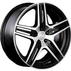 Купить RW (RACING WHEELS) H-414 BK/FP R18 W7.5 PCD5x114.3 ET42 DIA67.1