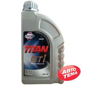 Купить Моторное масло FUCHS Titan GT1 0W-20 (1л)