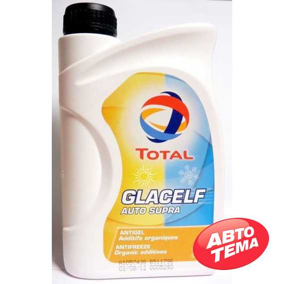 Антифриз TOTAL GLACELF - Интернет магазин резины и автотоваров Autotema.ua