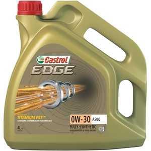 Купить Моторное масло CASTROL Edge Titanium 0W-30 A5/B5 (4л)