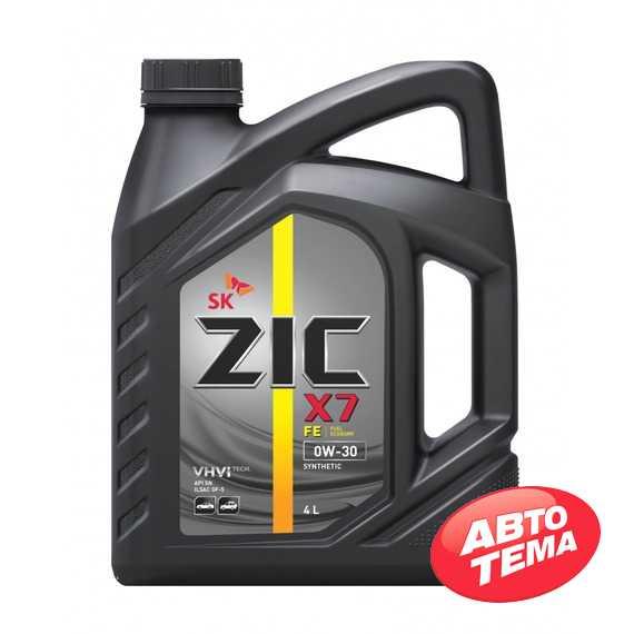 Моторное масло ZIC X7 FE - Интернет магазин резины и автотоваров Autotema.ua