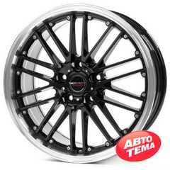 BORBET CW2 black rim polished - Интернет магазин резины и автотоваров Autotema.ua