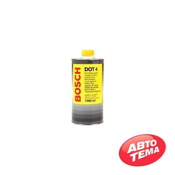 Тормозная жидкость Bosch DOT4 1л - Интернет магазин резины и автотоваров Autotema.ua