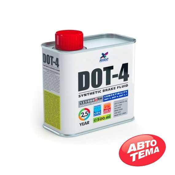 Тормозная жидкость XADO DOT-4 - Интернет магазин резины и автотоваров Autotema.ua