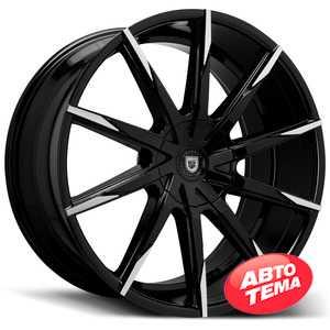 Купить LEXANI CSS15 Black & Mach Tip R20 W10 PCD5x112 ET42 HUB74.1