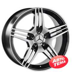 Купить REPLICA Mercedes-AMG JT-1228 BM R19 W9.5 PCD5x112 ET32 DIA66.6