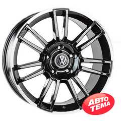 Купить REPLICA Volkswagen JT-1593 BMatt R19 W9 PCD5x130 ET45 DIA71.6