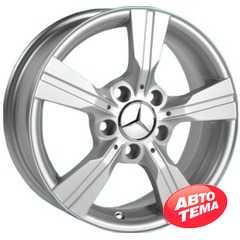 Купить REPLICA Mercedes JH 2433 Silver R15 W6 PCD5x112 ET46 DIA66.6