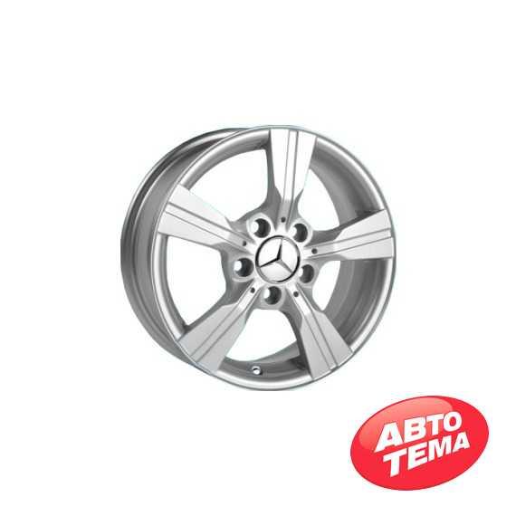 REPLICA Mercedes JH 2433 Silver - Интернет магазин резины и автотоваров Autotema.ua