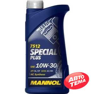 Купить Моторное масло MANNOL Special Plus  7512 10W-30 (1л)