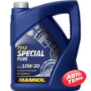Купить Моторное масло MANNOL Special Plus  7512 10W-30 (4л)